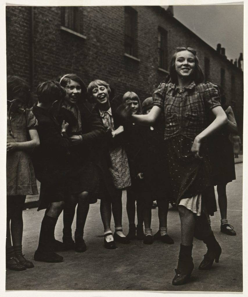 Bill Brandt, East End Girl Dancing the Lambeth Walk