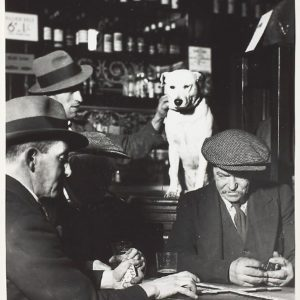 Bill Brandt, Domino Players in North London