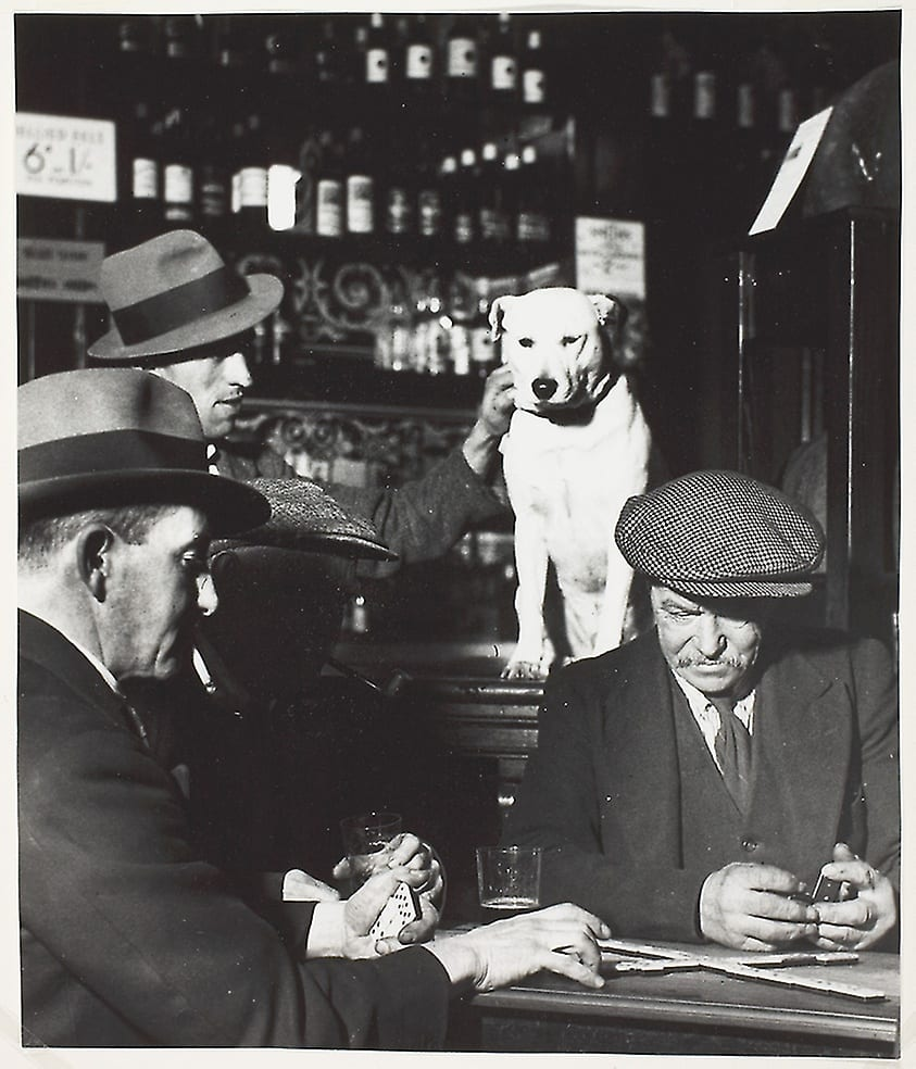 Bill Brandt, Domino Players in North London