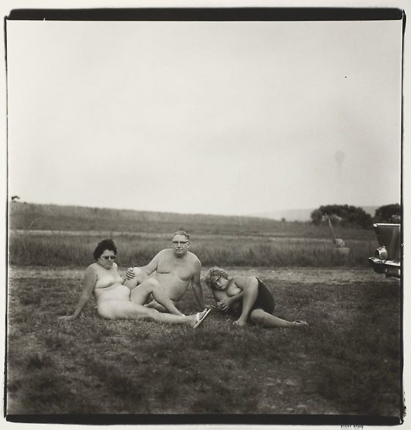 Diane Arbus, A Family One Evening in a Nudist Camp, PA