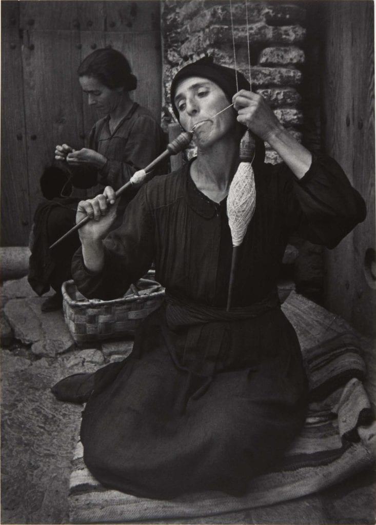 W. Eugene Smith, Spinner, from Spanish Village