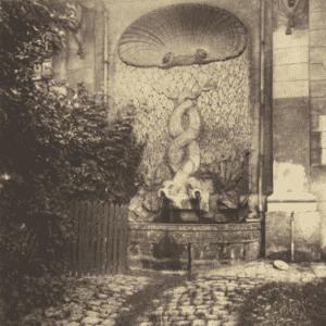 Eugène Atget, Issy - Ancien Chateau
