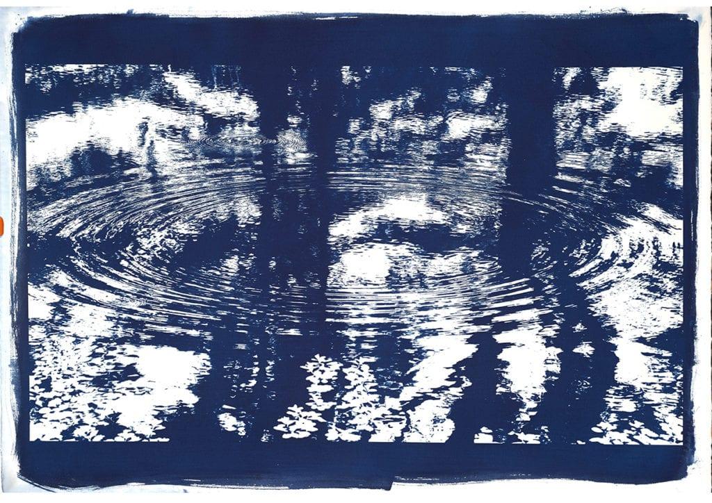 Michael Eastman Cyanotype #9