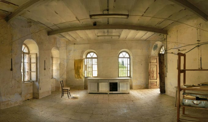 Yuval Yairi Ochre Room