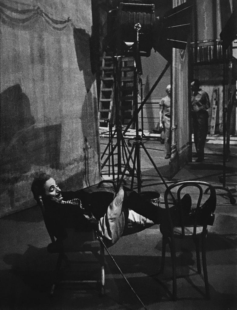 W. Eugene Smith, Untitled (Ringmaster without Hat)- Chaplin at Work
