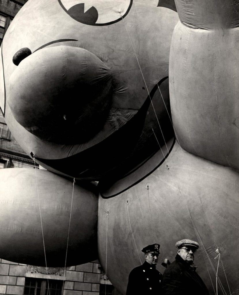 F.B. Grunzweig, Macy's Thanksgiving Parade, Mighty Mouse