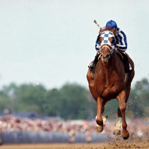 Neil Leifer, Secretariat at Kentucky Derby