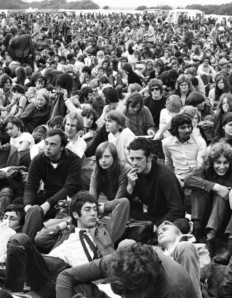 John Loring, Crowd Scene, Isle of Wight Music Festival, August 1969