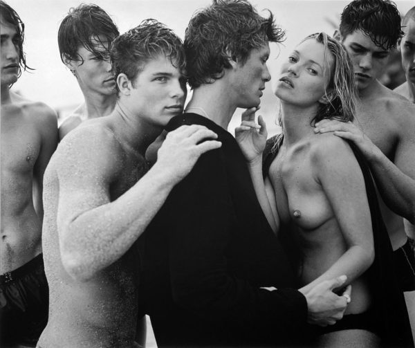 Bruce Weber Kate Moss and Charlie Sexton and Friends Golden Beach