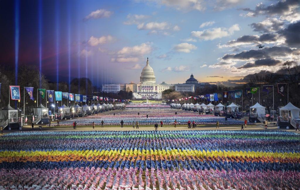 Stephen Wilkes, Biden Harris Inauguration, Washington DC, Day to Night