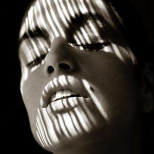 Albert Watson, Cindy Crawford in Shadows, San Francisco, 1989