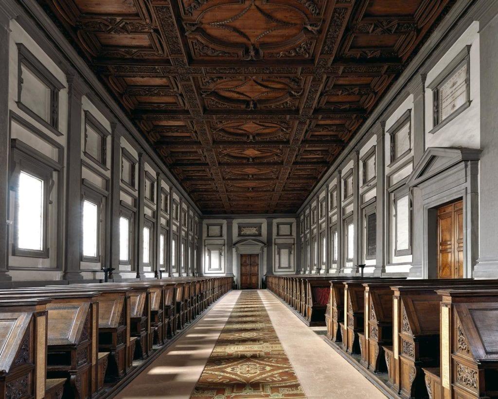 Massimo Listri, Biblioteca Laurenziana I, Firenze