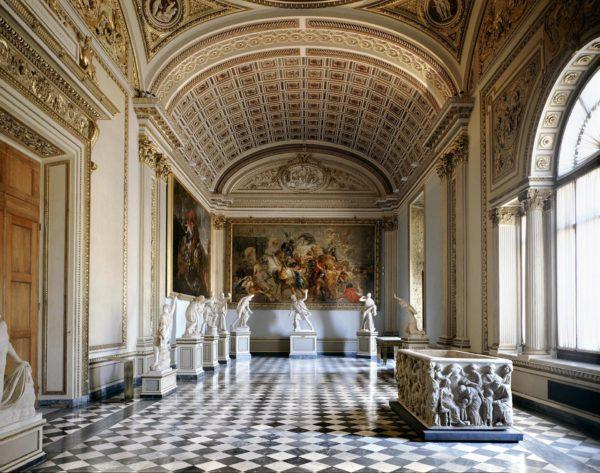 Massimo Listri, Galleria degli Uffizi, Sala di Niobe I, Firenze