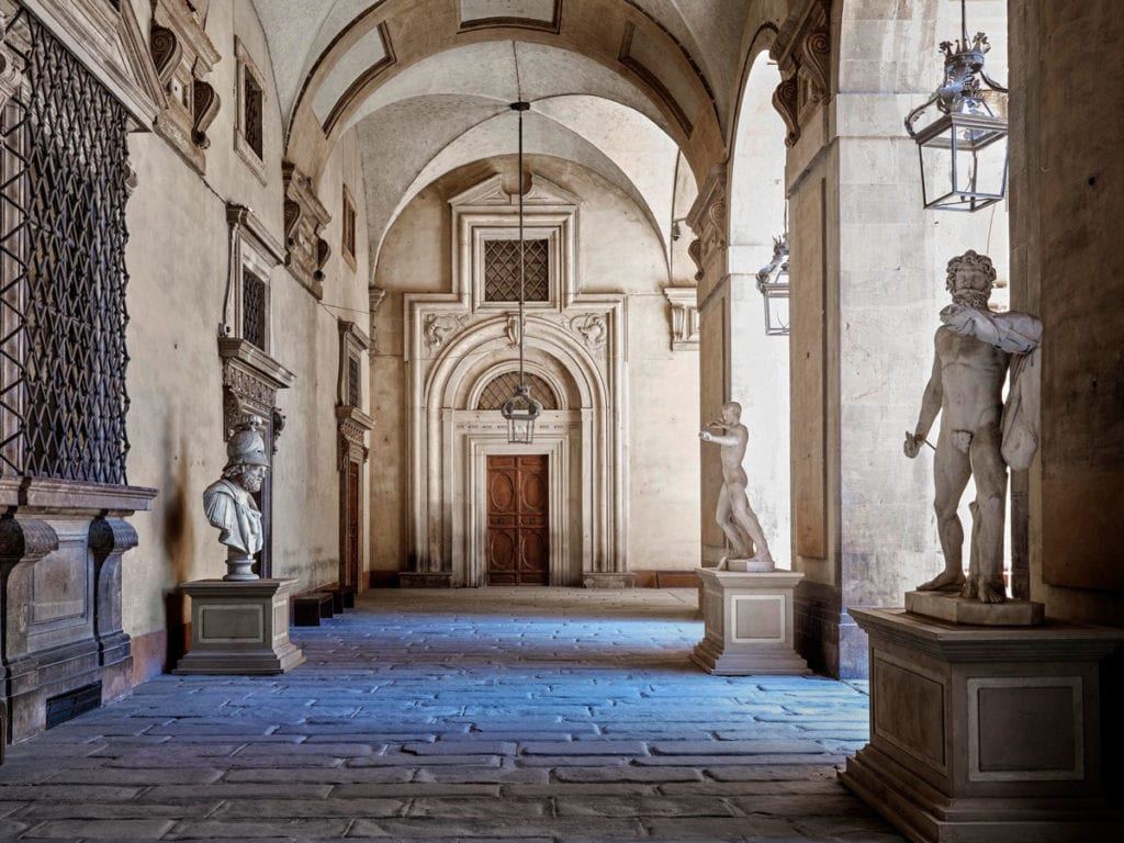 Massimo Listri Cortile Palazzo Pitti, Firenze