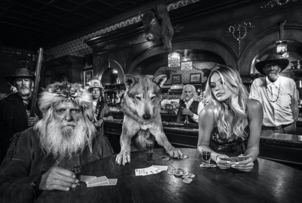 David Yarrow, Aces and Eights, 2020