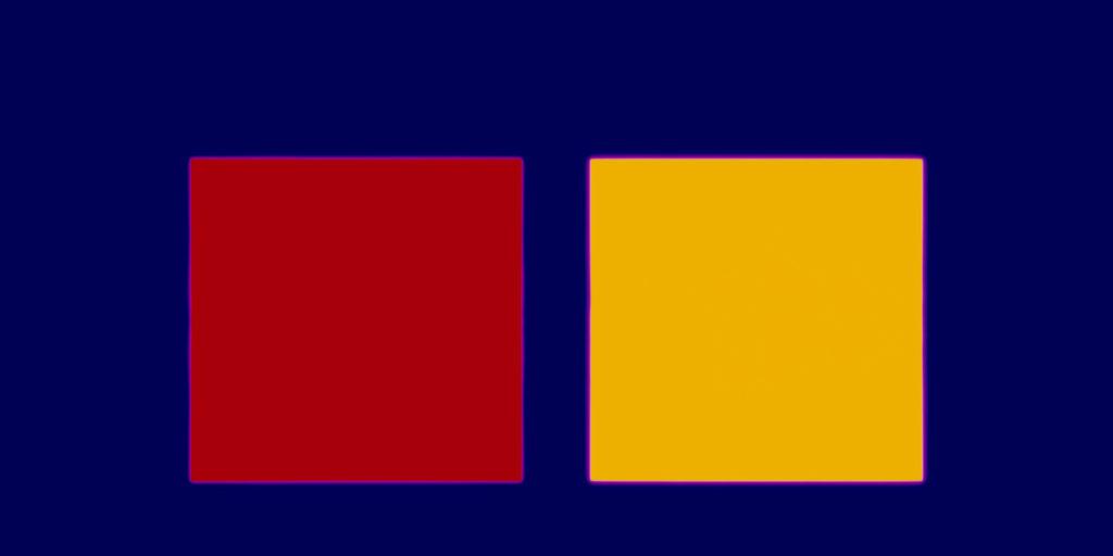Garry Fabian Miller, Blue Yellow Red
