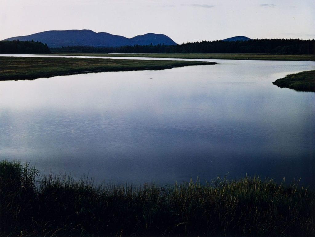 Eliot Porter, Tidal Marsh. Mount Desert Island, Maine, August 4, 1965