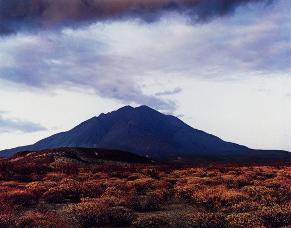 Eliot Porter, Sunset Behind Las Tres Virgenes Volcano. Near Mezquital, Baja, California, August 12, 1966