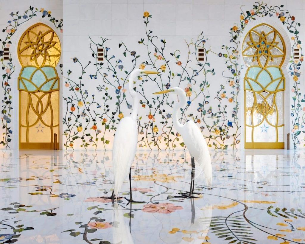 Karen Knorr, Morning Glory, Grand Mosque, Abu Dhabi