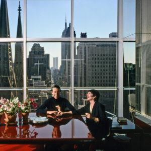 Harry Benson, Halston & Liza Minnelli, Olympic Tower