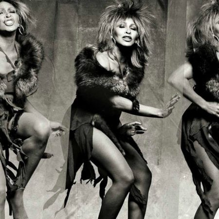 Norman Seef, Tina Turner, Los Angeles - Tina 3-up