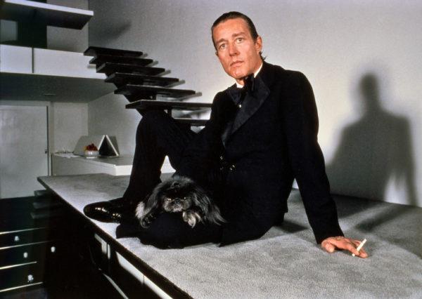Harry Benson, Halston Stairs, Shadow