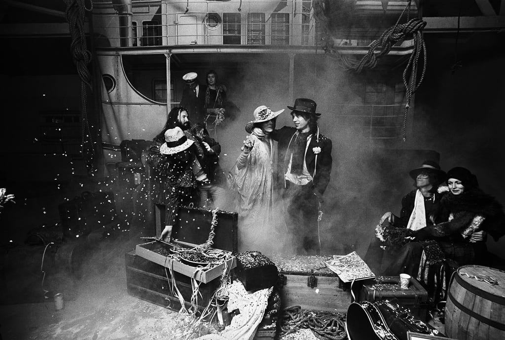 Norman Seeff, The Rolling Stones, Los Angeles, Exile on Main Street, 1971
