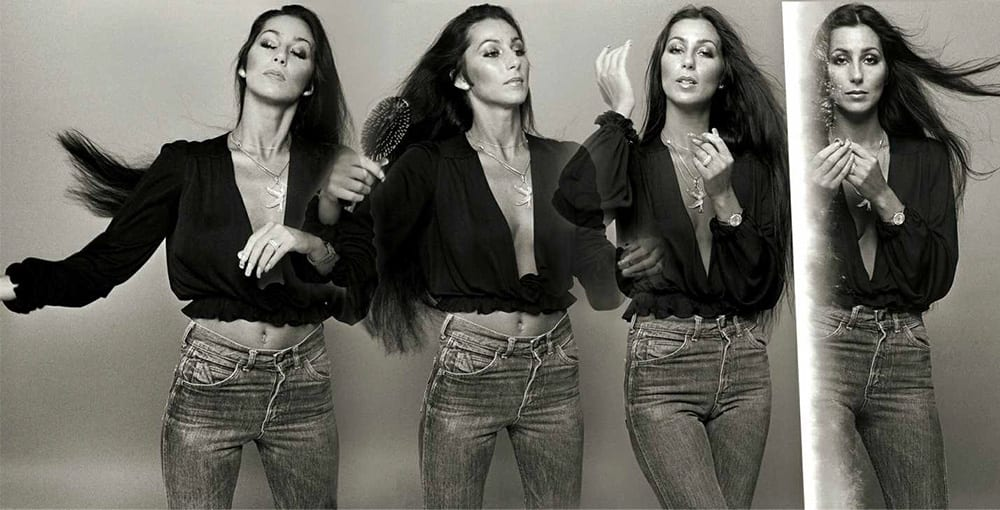 """Norman Seef, Cher, Los Angeles, """"Cher 4-up Sequence"""""""