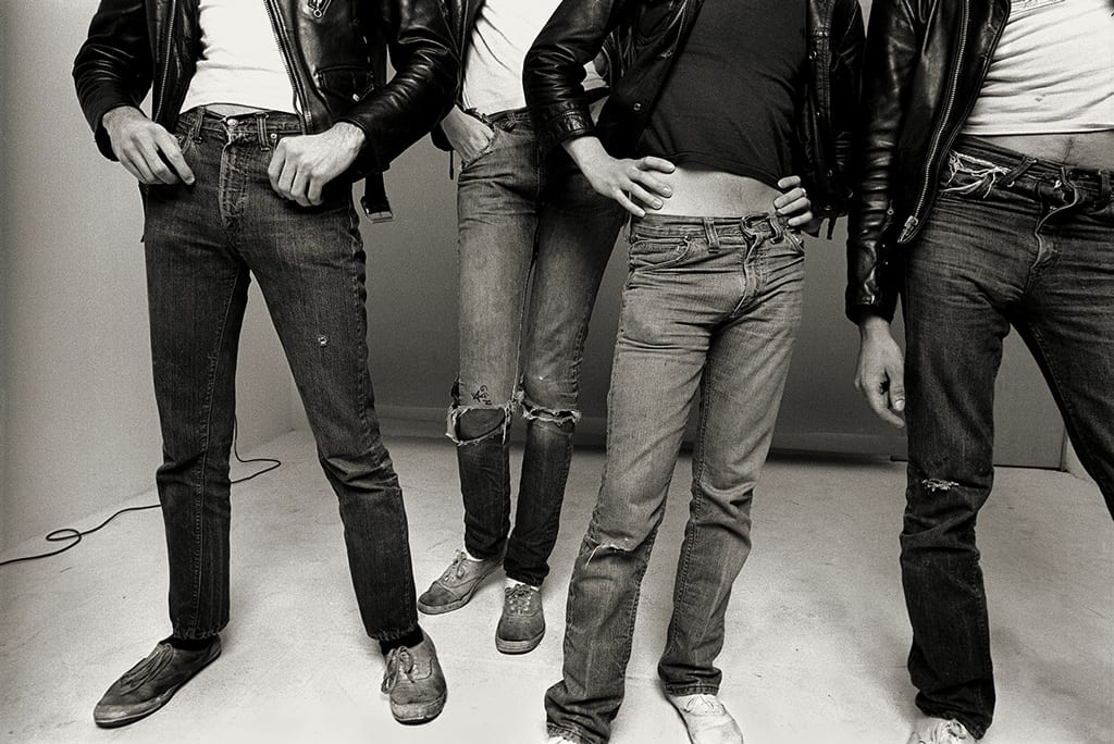 """Norman Seeff, The Ramones, Los Angeles, """"Jeans & Keds"""""""