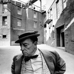 Lawrence Schiller, Buster Keaton, MGM Back Lot