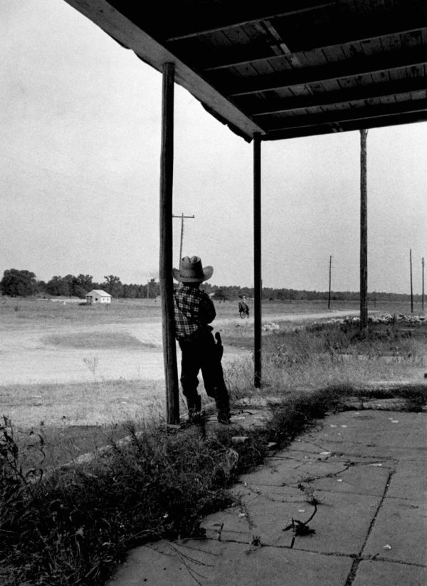 Guy Gilette, Weldon, TX, Early Silver Gelatin Photograph