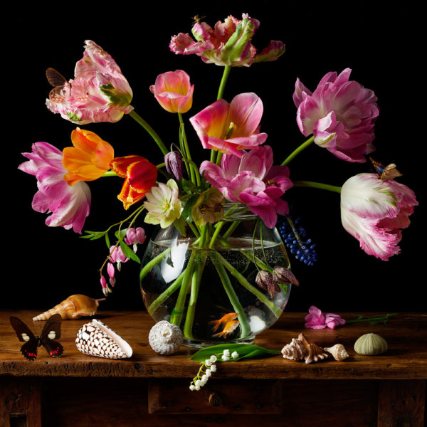 Paulette Tavormina, Dutch Tulips & Goldfish, 2021