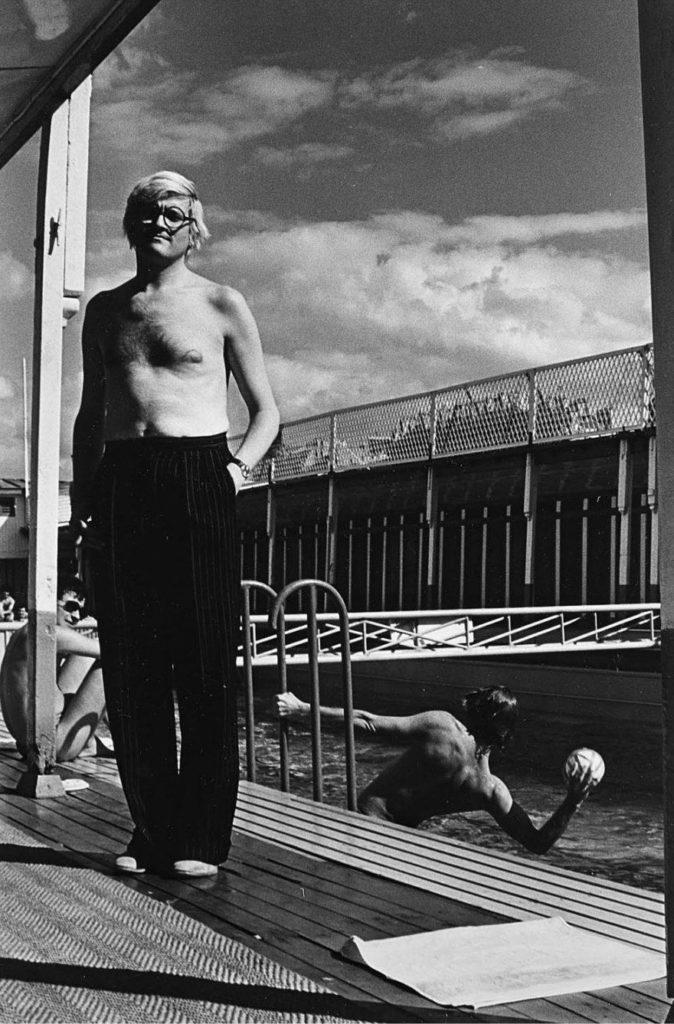 Helmut Newton, David Hockney