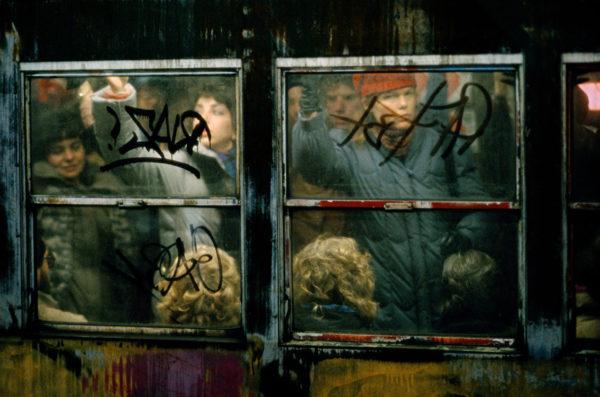 Frank Horvat, Rush Hour, New York, 1983, Archival Pigment Photograph