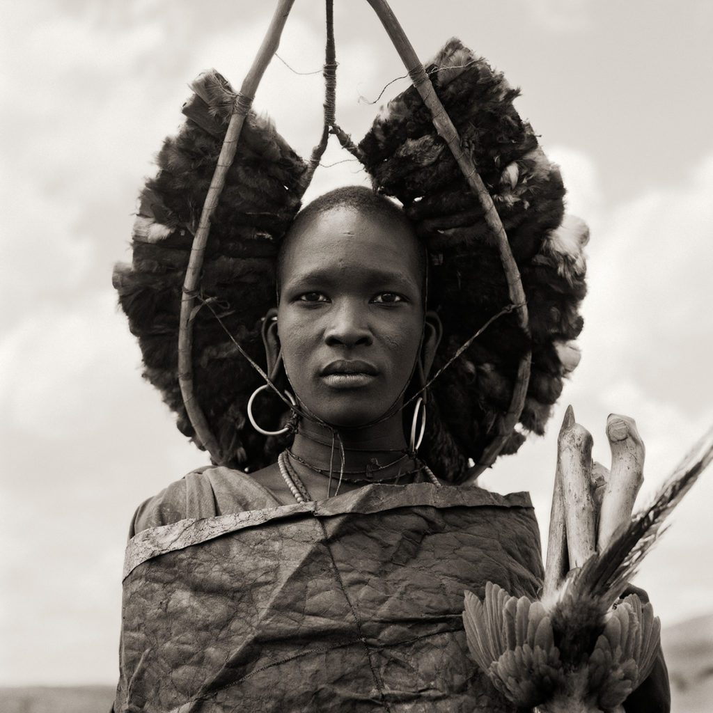 Dana Gluckstein Masai Warrior Initiate, Kenya