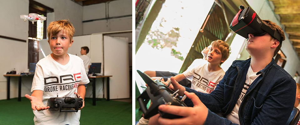 Win a Drone Racing Africa Kids Holiday Camp!
