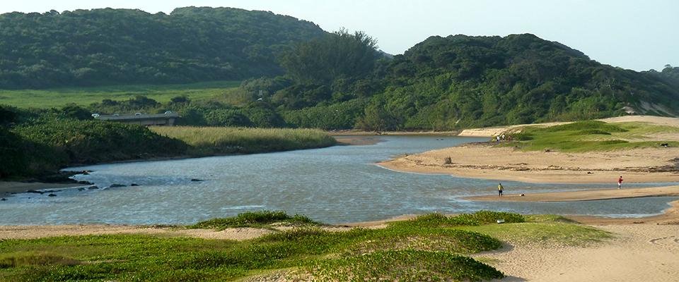 Image of lagoon at Umhlanga Lagoon Nature Reserve