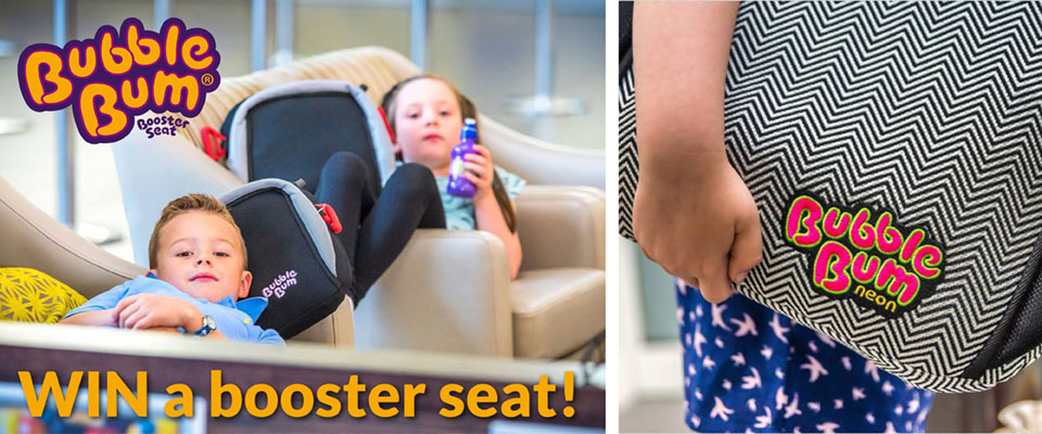 Win One of Two BubbleBum Booster Seats!