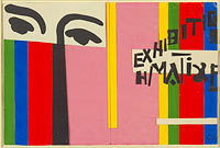 Design for cover of Exhibition H. Matisse