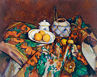 Поль Сезанн: Still Life with Ginger Jar, Sugar Bowl, and Oranges