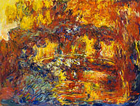 Claude Monet: The Japanese Footbridge (1)