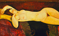 Amedeo Modigliani: Reclining Nude (2)