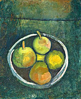 Paul Klee: Still Life with Four Apples