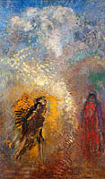 Odilon Redon: Apparition (1)
