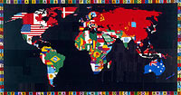 Alighiero e Boetti: Map of the World