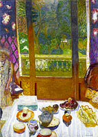 Пьер Боннар: Dining Room Overlooking the Garden