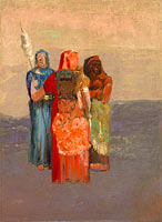 Odilon Redon: The Three Fates