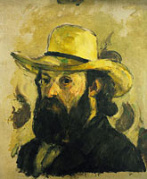 Self-Portrait in a Straw Hat
