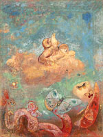 Odilon Redon: The Chariot of Apollo