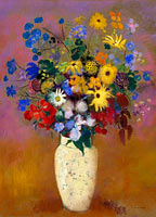 Odilon Redon: Vase of Flowers (3)